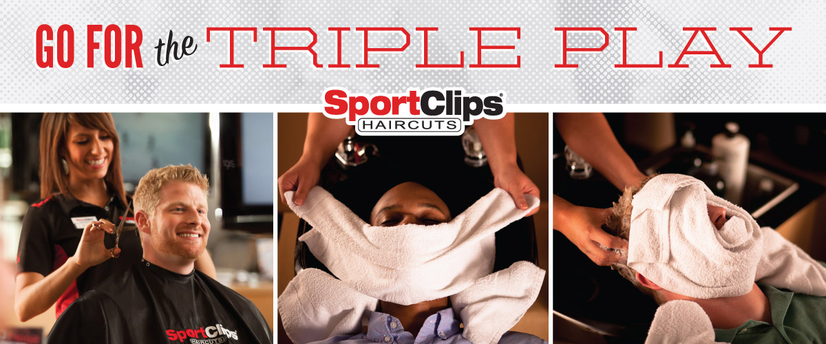 The Sport Clips Haircuts of Pepperwood Triple Play